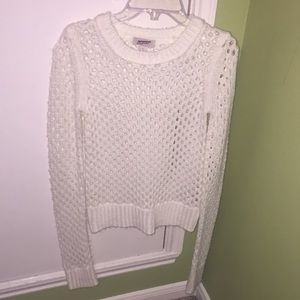 Women's white sweater pullover size Small